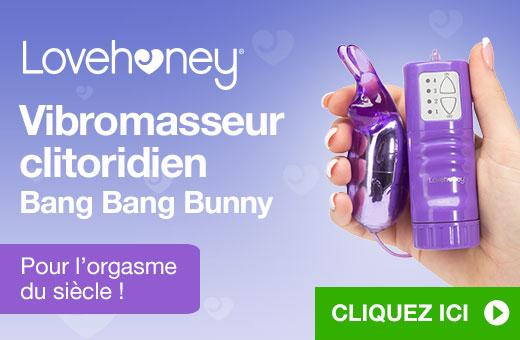 Lovehoney Vibromasseur clitoridien Bang Bang Bunny