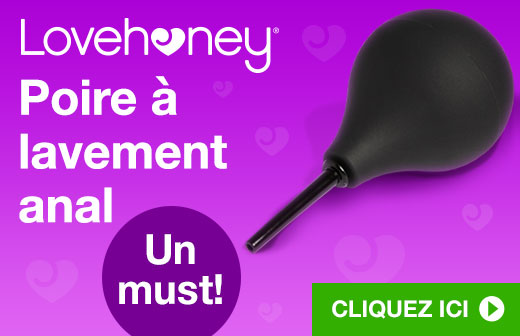 Lovehoney Poire à lavement anal