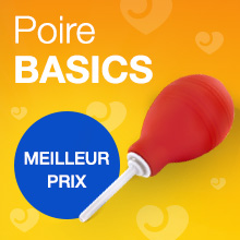 Poire à lavement anal BASICS par Lovehoney