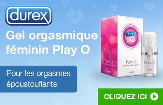 Durex Gel orgasmique féminin Play O