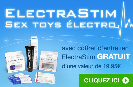 ElectraStim Electrosex Toys avec coffret d'entretien ElectraStim