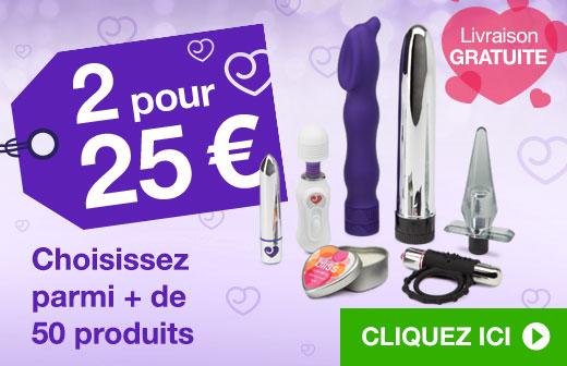 2 pour 25 €