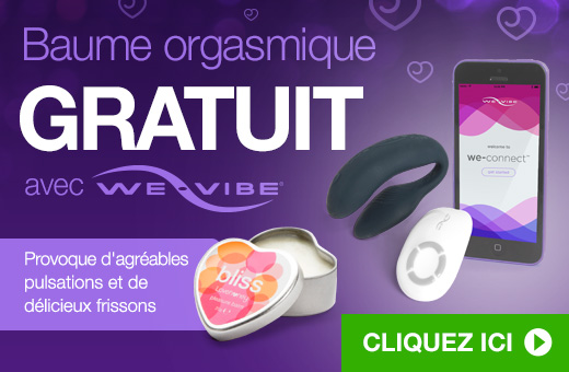 ^ Baume orgasmique GRATUIT avec We-Vibe