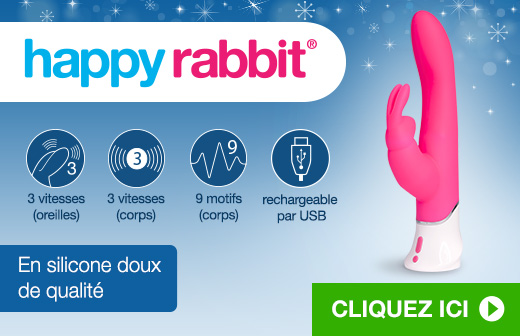 Vibromasseur Happy Rabbit