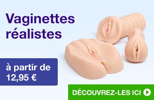 ^ Vaginettes réalistes à partir de 12,95 €