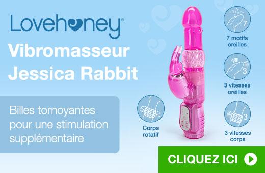 Lovehoney Vibromasseur Jessica Rabbit