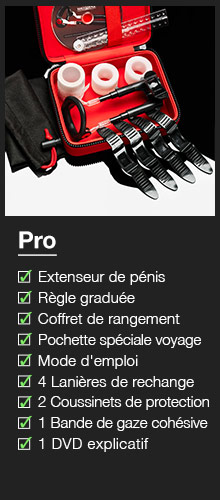 ^ Male Edge Extenseur de pénis - Pro