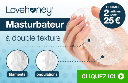Lovehoney Intense Masturbateur à double texture