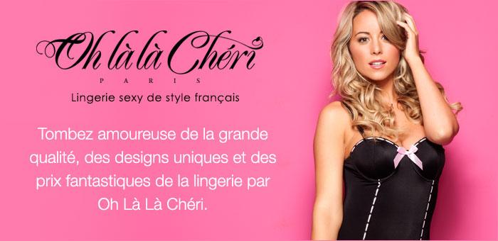 Oh La La Chéri Lingerie sexy de style français