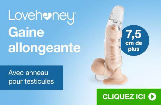 ^ Lovehoney Gaine allongeante