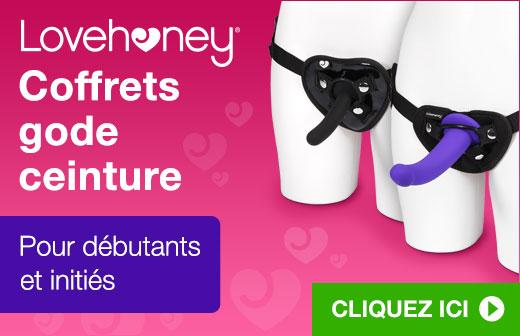 Lovehoney Coffrets gode ceinture
