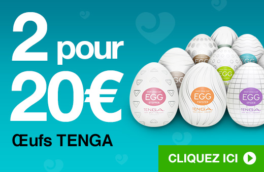 ^ 2 pour 20€ Œufs TENGA