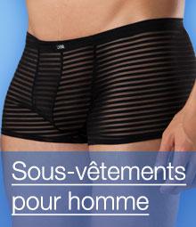 Sous-vêtements pour homme