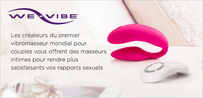 ^ We-Vibe Vibromasseurs pour couples