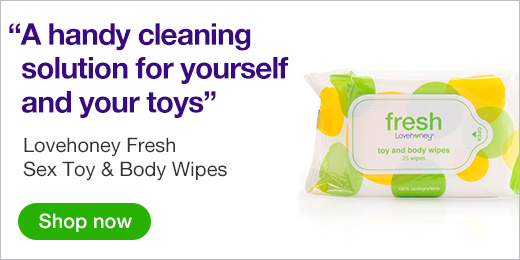 ^Lovehoney Fresh Sex Toy and Body Wipes