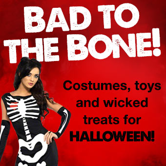 Costumes, toys and wicked treats for Halloween from Lovehoney.com