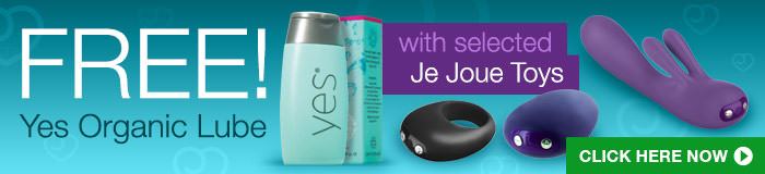 Enjoy complimentary lube with Je Joue toys