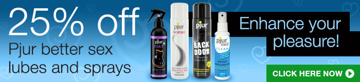 Get 25% off Pjur products