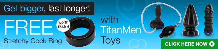 Get a Cock Ring with TitanMen toys