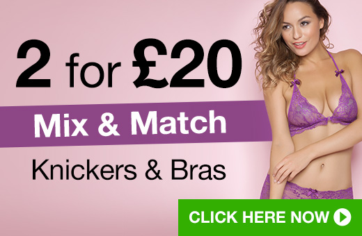 2 for @pound;20 Mix and Match Knickers and Bras