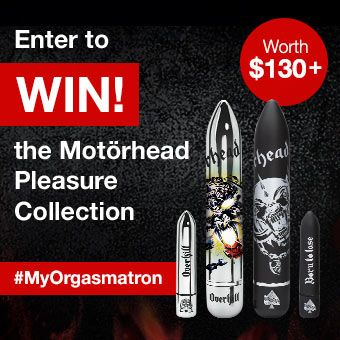 Motörhead Vibrator Giveaway