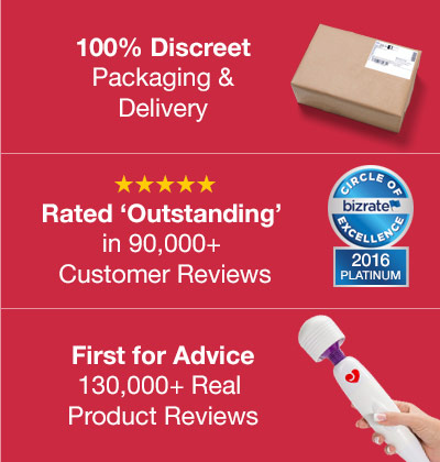 100% Discreet Delivery, First for Advice and Rated Outstanding in 90,000+ Customer Reviews