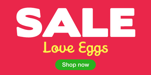 ^Sale Love Eggs
