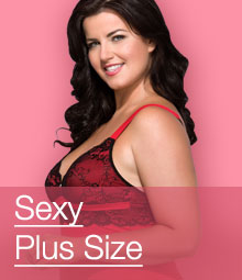 ^Sexy Plus Size Lingerie Sets