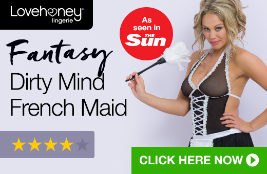 Lovehoney Fantasy Dirty Mind French Maid - As Seen In The Sun