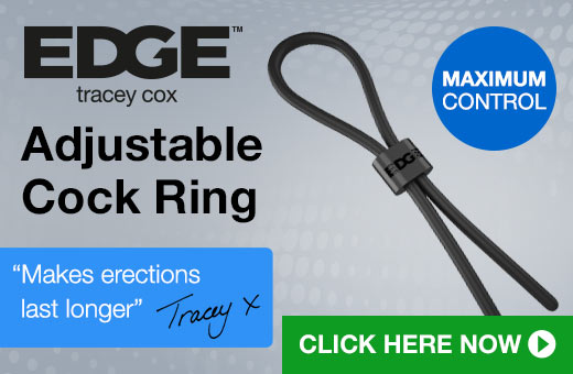 ^ Tracey Cox Adjustable Ring