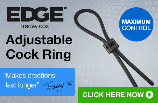 Tracey Cox EDGE Adjustable Cock Ring