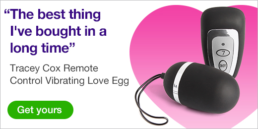 ^ Tracey Cox Remote Control Vibrating Love Egg