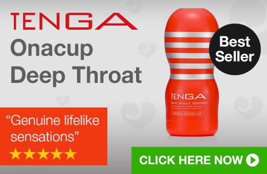 TENGA Onacup Deep Throat Masturbator