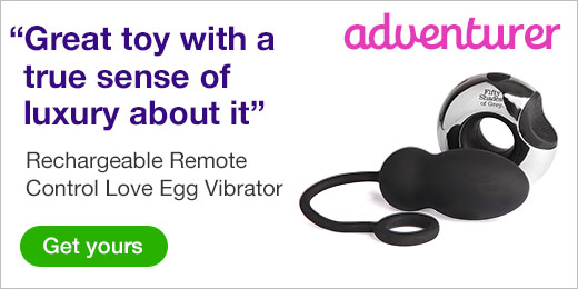 ^ Fifty Shades of Grey Relentless Vibrations Rechargeable Remote Control Egg
