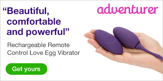 Rechargeable Remote Control Love Egg Vibrator