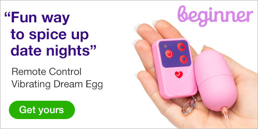 ^ Remote Control Vibrating Dream Egg