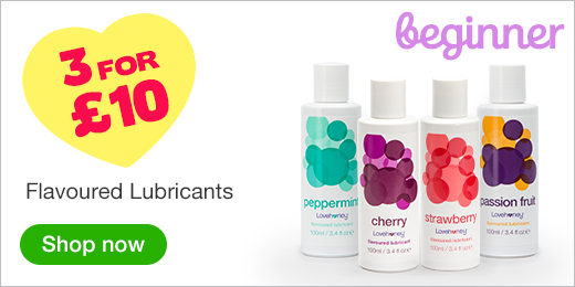 ^ Flavoured Lubricants - 3 for 10