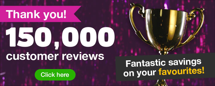 ^Thank you 150,000 customer reviews!