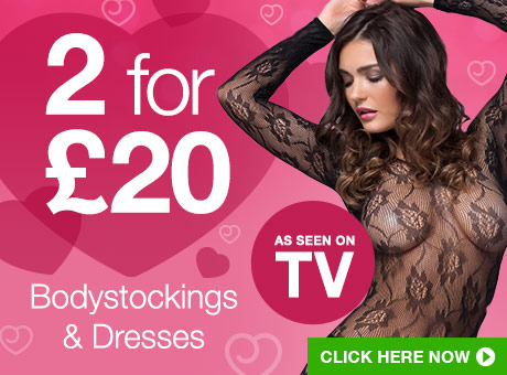 ^2 for £20 Bodystockings and Dresses