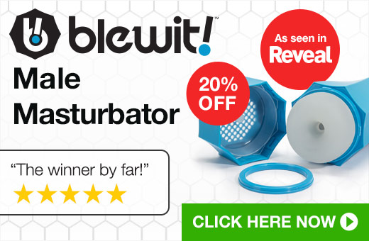 20% OFF Blewit Male Masturbator
