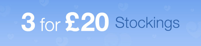 3 for £20 Stockings
