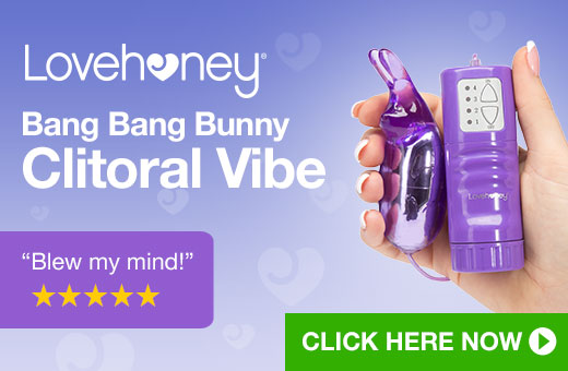 ^ Lovehoney Bang Bang Bunny Clitoral Vibe