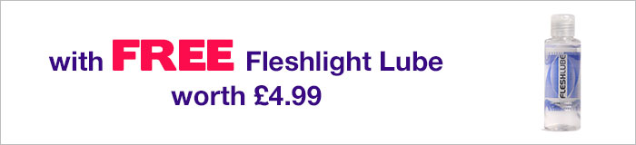 Fleshlight with FREE lube worth 4.99 pounds