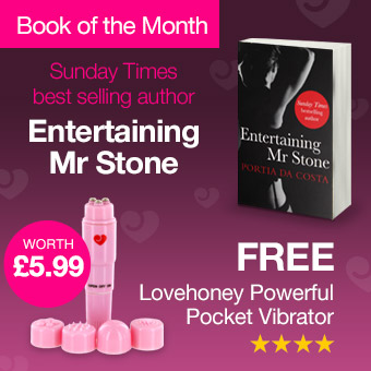 Entertaining Mr Stone by Portia Da Costa is our book of the month