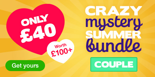^Crazy Mystery Summer Bundle for just 40 pounds! Couple