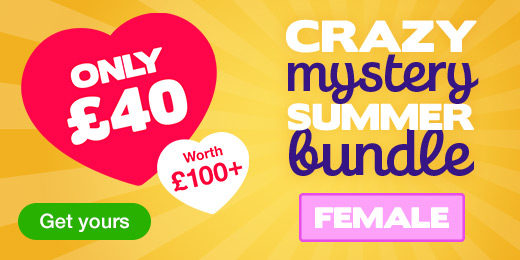 ^Crazy Mystery Summer Bundle for just 40 pounds! Female