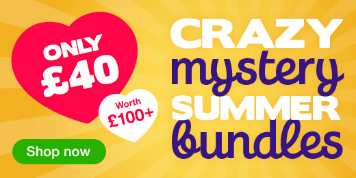 ^Crazy Mystery Summer Bundle for just 40 pounds! All of them