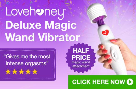 Lovehoney Magic Wand Vibrator with HALF PRICE Attachment