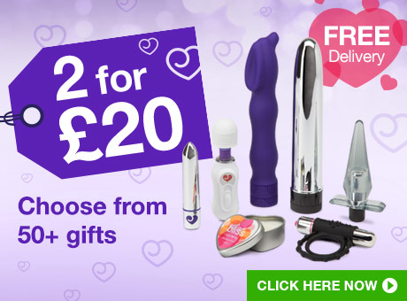 ^2 for £20: choose from 50+ toys and gifts