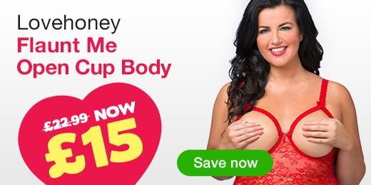 ^Lovehoney Flaunt Me Open Cup Body